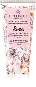 Collistar Rosa Hand and Nail Cream creme hidratante para mãos e unhas
