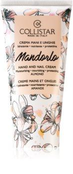 Collistar Mandorlo Hand and Nail Cream cremă hidratantă pentru mâini și unghii