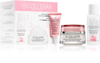Collistar Idro-Attiva Deep Moisturizing Cream sada (pro normální a suchou pleť)