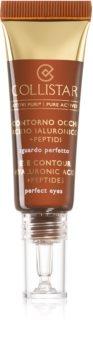 Collistar Pure Actives Eye Contour Hyaluronic  Acid+Peptides Opstrammende øjencreme