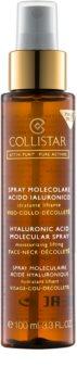 Collistar Pure Actives Hyaluronic Acid Aquagel spray à l'acide hyaluronique