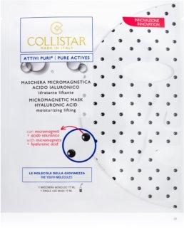 Collistar Pure Actives Micromagnetic Mask Hyaluronic Acid мікромагнетична маска з гіалуроновою  кислотою