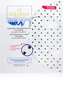 Collistar Pure Actives Micromagnetic Mask Collagen masque micromagnétique au collagène