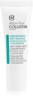 Collistar Pure Actives Anti-Dark Spot Concentrate Glycolic Acid + Niacinamide emulsja do twarzy przeciw przebarwieniom skóry