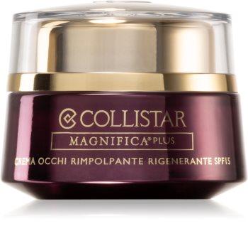 Collistar Magnifica Plus Replumping Regenerating Eye Cream vyhlazující oční krém SPF 15