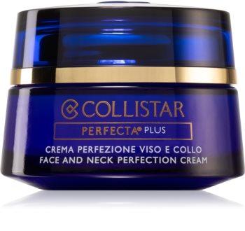 Collistar Perfecta Plus Face and Neck Perfection Cream crème remodelante visage et cou
