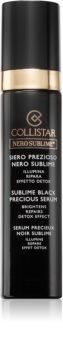 Collistar Nero Sublime® Sublime Black Precious Serum posvetlitveni serum za obraz