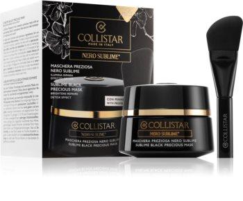 Collistar Nero Sublime® Sublime Black Precious Mask regeneracijska in razstrupljevalna maska