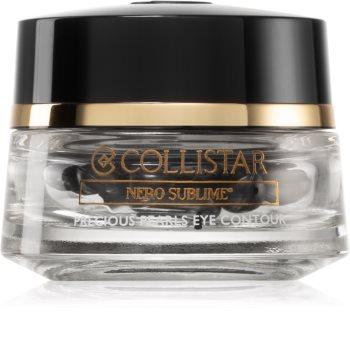 Collistar Nero Sublime® Precious Pearls Eye Contour серум за стягане на околоочния контур в капсули