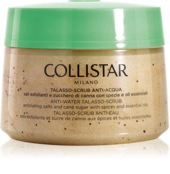 Collistar Special Perfect Body Anti-Water Talasso-Scrub esfoliante de limpeza corporal com sal marinho