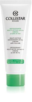 Collistar Special Perfect Body Multi-Active Deodorant 24 Hours кремовий антиперспірант для всіх типів шкіри
