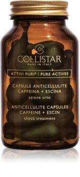 Collistar Pure Actives Anticellulite Capsules Caffeine+Escin кофеинови капсули против целулит