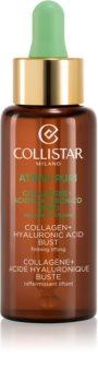Collistar Pure Actives Collagen+Hyaluronic Acid Bust συσφικτικός ορός για ντεκολτέ και στήθος με κολαγόνο