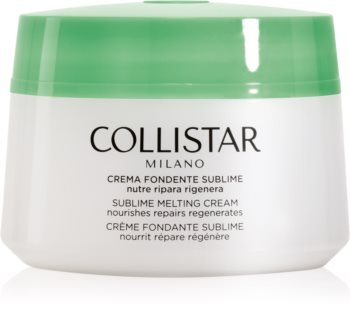 Collistar Special Perfect Body Sublime Melting Cream crema reafirmante y nutritiva para pieles muy secas