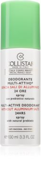Collistar Special Perfect Body Multi-Active Deodorant 24 Hours Deodorant Spray fara continut de aluminiu 24 de ore
