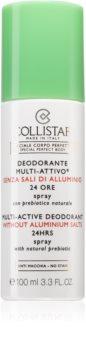 Collistar Special Perfect Body Multi-Active Deodorant 24 Hours Deospray ohne Aluminium 24 h