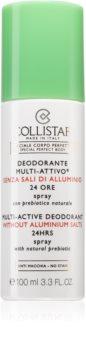 Collistar Special Perfect Body Multi-Active Deodorant 24 Hours Desodorizante em spray sem amoniaco 24 h