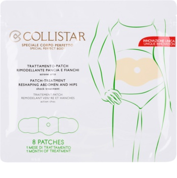 Collistar Special Perfect Body Patch-Treatment Reshaping Abdomen and Hips remodelačné náplaste na brucho a boky