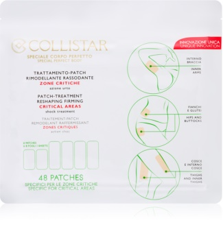 Collistar Special Perfect Body Patch-Treatment Reshaping Firming Critical Areas remodelačné náplasti na problematické partie