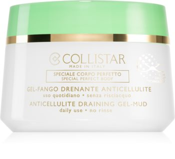 Collistar Special Perfect Body Anticellulite Draining Gel-Mud Slankende kropsgel til at behandle appelsinhud