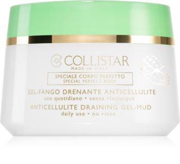 Collistar Special Perfect Body Anticellulite Draining Gel-Mud τζελ αδυνατίσματος για το σώμα για την αντιμετώπιση της κυτταρίτιδας