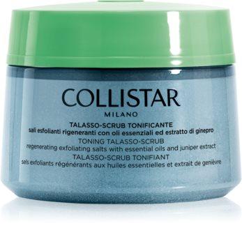 Collistar Special Perfect Body Toning Talasso-Scrub esfoliante corporal de alisamento