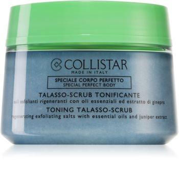 Collistar Special Perfect Body Toning Talasso-Scrub exfoliant de corp pentru matifiere