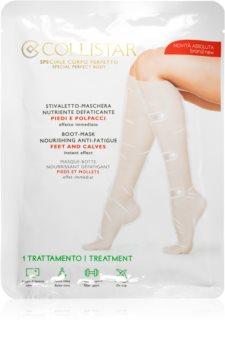 Collistar Special Perfect Body Boot-Mask Nourishing Anti-Fatigue Feet And Calves masca hranitoare pentru picioare