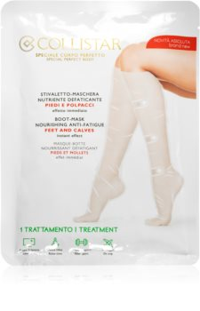 Collistar Special Perfect Body Boot-Mask Nourishing Anti-Fatigue Feet And Calves tápláló maszk lábakra