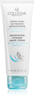 Collistar Nourishing Hygiene Hand Creme hidratáló kézkrém antibakteriális adalékkal