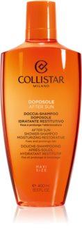 Collistar Special Perfect Tan After Shower-Shampoo Moisturizing Restorative gel de douche après-soleil corps et cheveux
