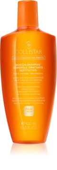 Collistar Special Perfect Tan After Shower-Shampoo Moisturizing Restorative gel de duche após sol para corpo e cabelo