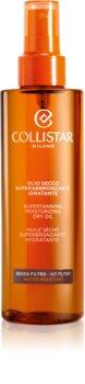 Collistar Special Perfect Tan Supertanning Moisturizing Dry Oil olio abbronzante senza fattore di protezione