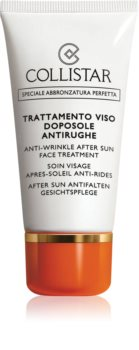 Collistar Special Perfect Tan Anti-Wrinkle After Sun Face Treatment krem po opalaniu przeciw zmarszczkom