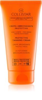 Collistar Sun Protection ochranný krém na opalování SPF 15