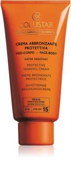 Collistar Special Perfect Tan Protective Tanning Cream crema protettiva abbronzante SPF 15