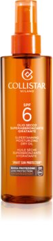 Collistar Special Perfect Tan Supertanning Moisturizing Dry Oil száraz olaj napozáshoz SPF 6