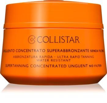 Collistar Supertanning Concentrated Unguent koncentrirana mast za sunčanje bez zaštitnog faktora
