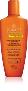 Collistar Special Perfect Tan Intensive Ultra-rapid Supertanning Treatment napozókrém SPF 6