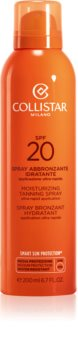 Collistar Special Perfect Tan Moisturizing Tanning Spray napozó spray SPF 20