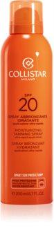 Collistar Special Perfect Tan Moisturizing Tanning Spray слънцезащитен спрей SPF 20