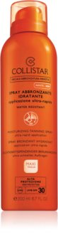Collistar Special Perfect Tan Moisturizinig Tanning Spray Solspray SPF 30