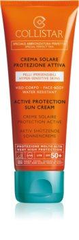 Collistar Special Perfect Tan Active Protection Sun Cream crema protettiva abbronzante SPF 50+