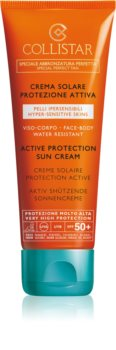 Collistar Special Perfect Tan Active Protection Sun Cream слънцезащитни продукти SPF 50+