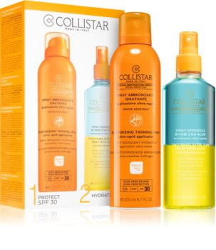 Collistar Sun Kit Sæt  (Til solbruning)