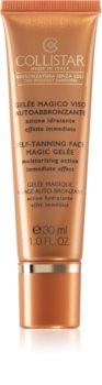 Collistar Tan Without Sunshine Self-Tanning Face Magic Gelée samoopalovací gel na obličej