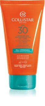 Collistar Special Perfect Tan Active Protection Sun Cream vodootporna krema za sunčanje SPF 30