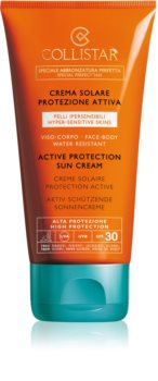 Collistar Special Perfect Tan Active Protection Sun Cream crème solaire waterproof SPF 30