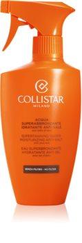 Collistar Special Perfect Tan Supertanning Water Moisturizing Anti-Salt lesülést optimalizáló hidratáló spray Aloe Vera tartalommal