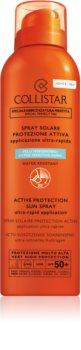 Collistar Special Perfect Tan Active Protection Sun Spray Protective Spray for Face and Body SPF 50+